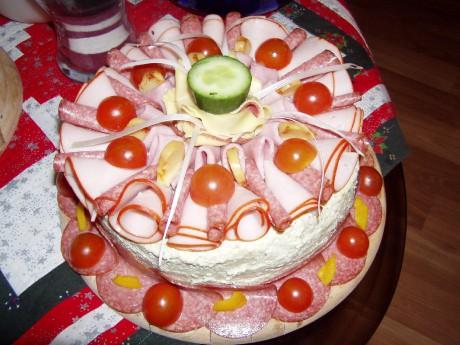 EVES Korales - Fotoalbum - Tvoření v kuchyni... - Slaný dort ...